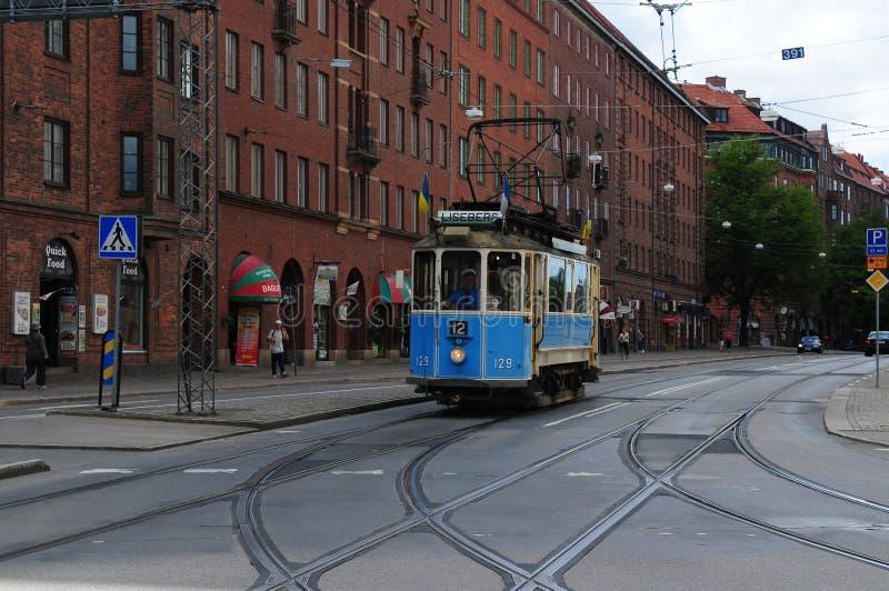 Gothenburg-Erbtram lizenzfreie stockfotos