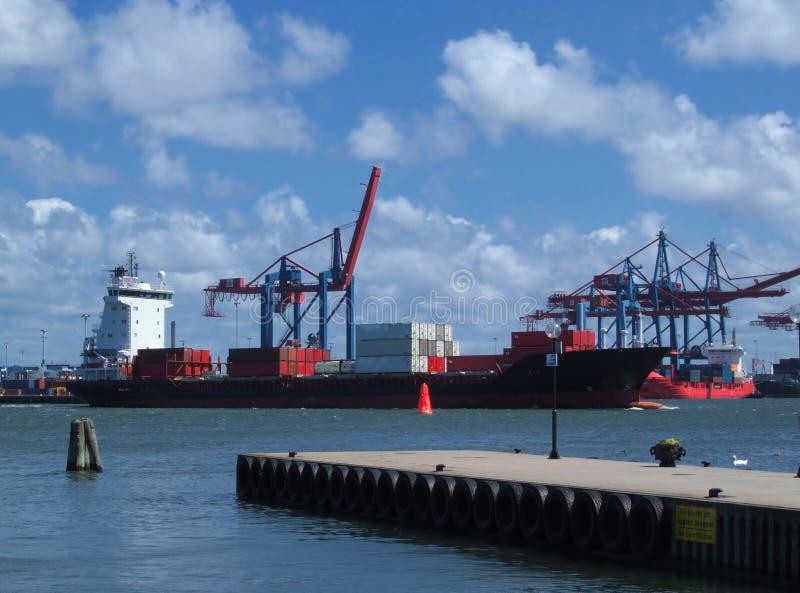 Gothenburg-Hafen stockfotografie
