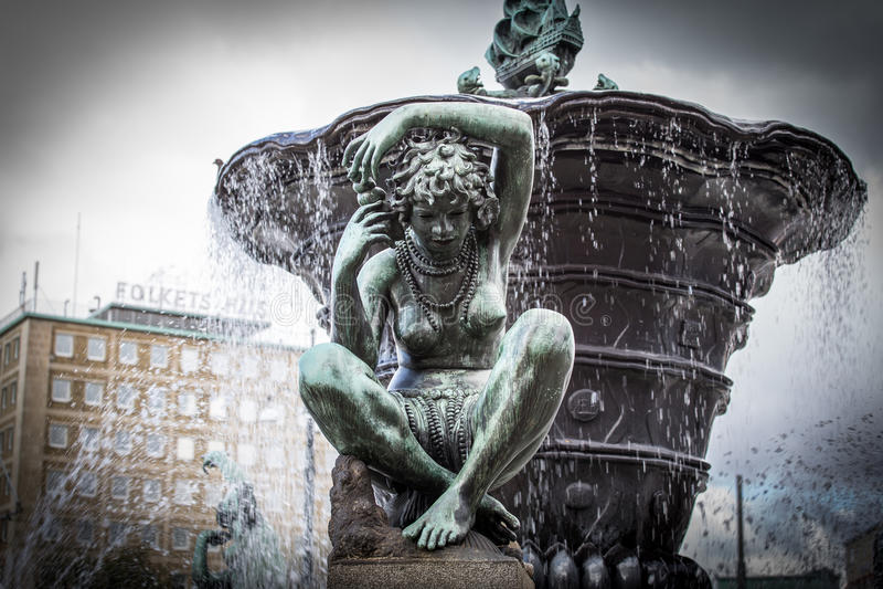 Gothenburg - The Iron Square stock photography