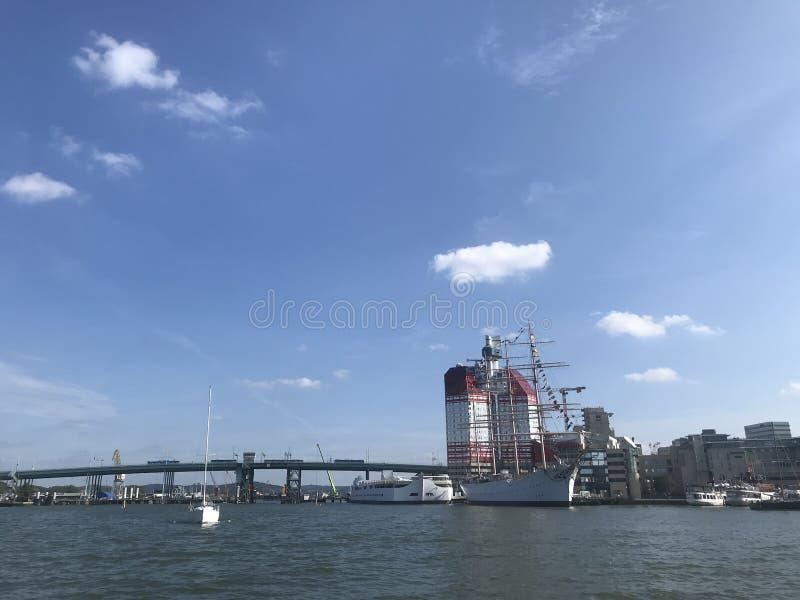 Gothenburg river view stock image