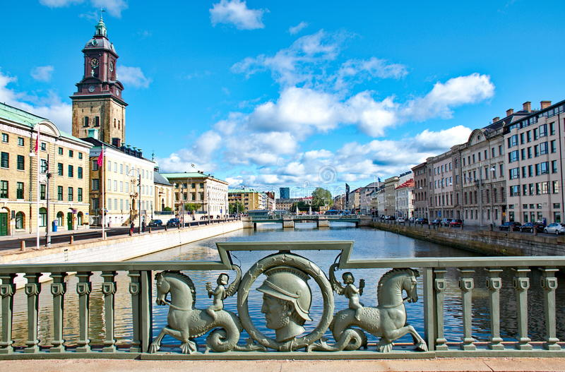 Gothenburg-Stadt in Schweden stockfoto