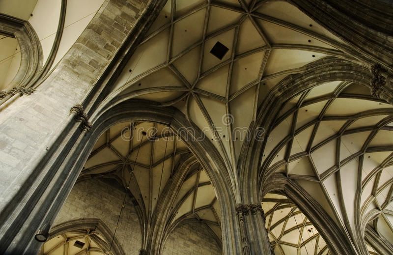 Download Gothic arch stock image. Image of travel, cathedral, vienna - 20983599