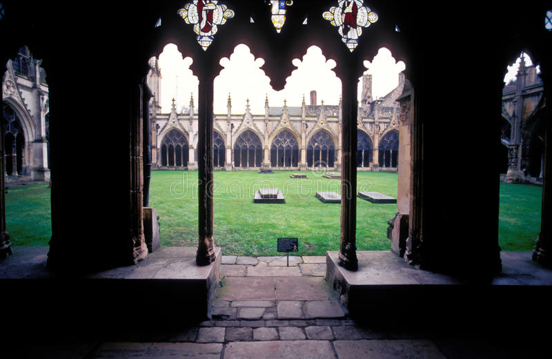 Download Gothic architecture stock photo. Image of columns, passage - 31520474