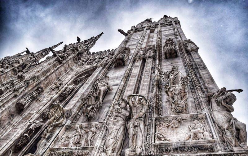 Duomo Milan, Lombardi Italy summer, 2016 royalty free stock photos