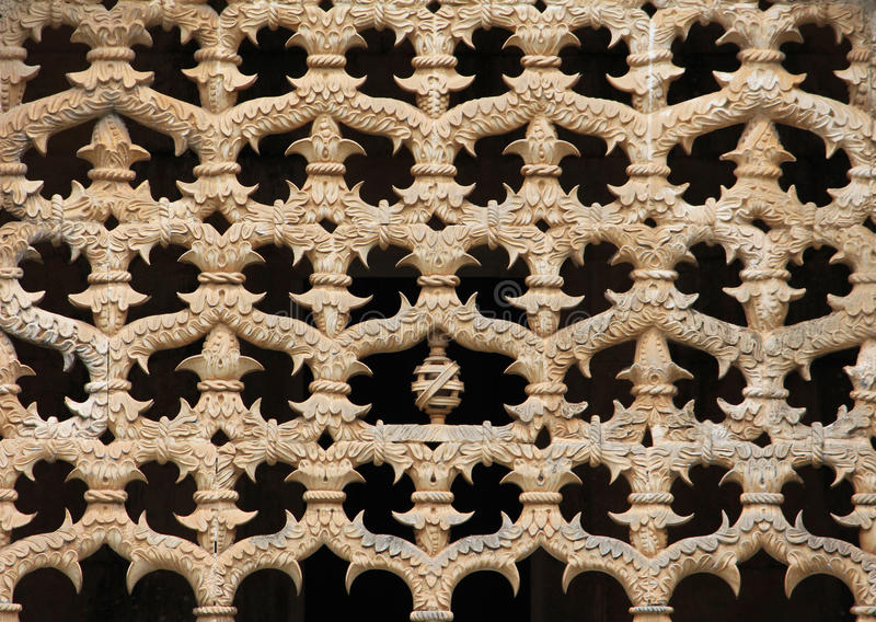 Gothic architecture pattern detail stock photography