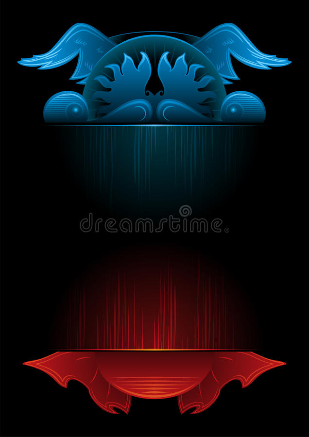 Download Gothic background stock vector. Illustration of grace - 28123607