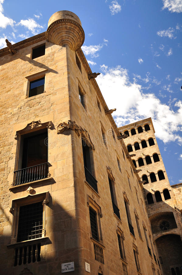 Gothic Barcelona. royalty free stock photos