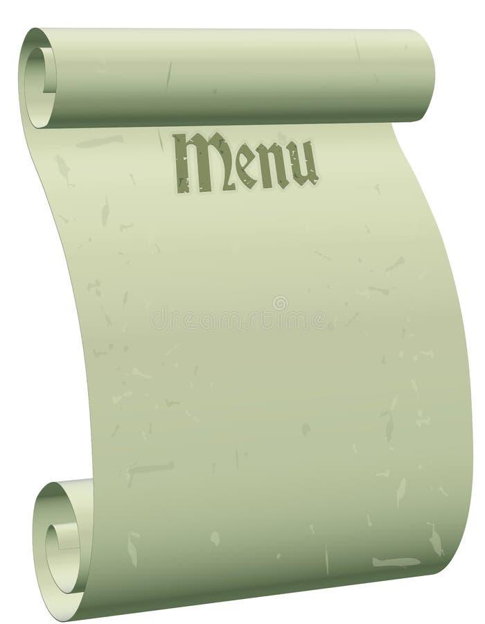 Download Gothic Blank Menu Stock Image Of Design