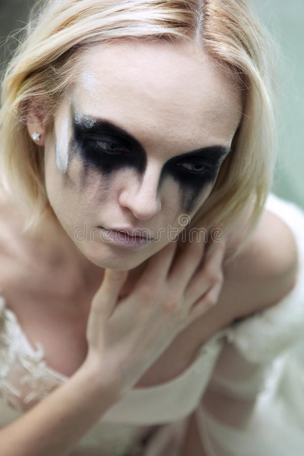 Download Gothic bride stock photo. Image of trend, nuptial, blond - 25408462