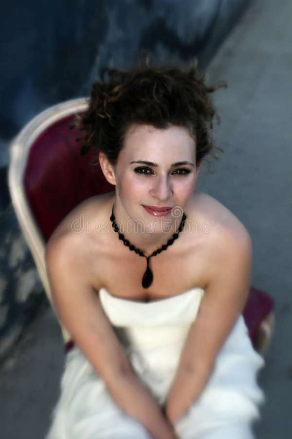 Free Gothic Bride Stock Photography - 5756712