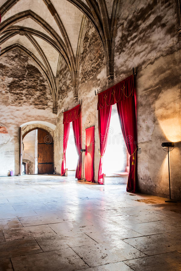 Download Gothic Castle Interior Stock Image Of Romanian