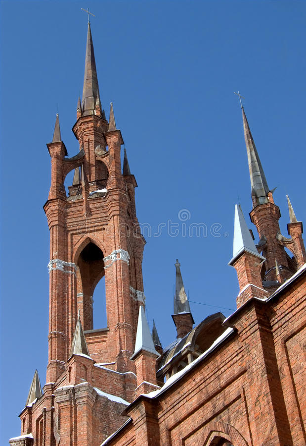 Gothic cathedral royalty free stock photo