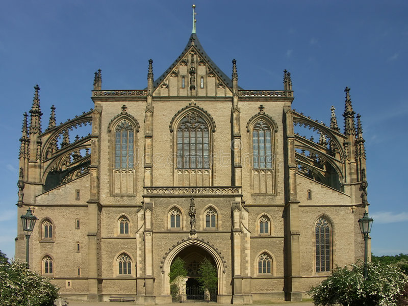 Download Gothic cathedral stock photo. Image of cathedral, flying - 134650