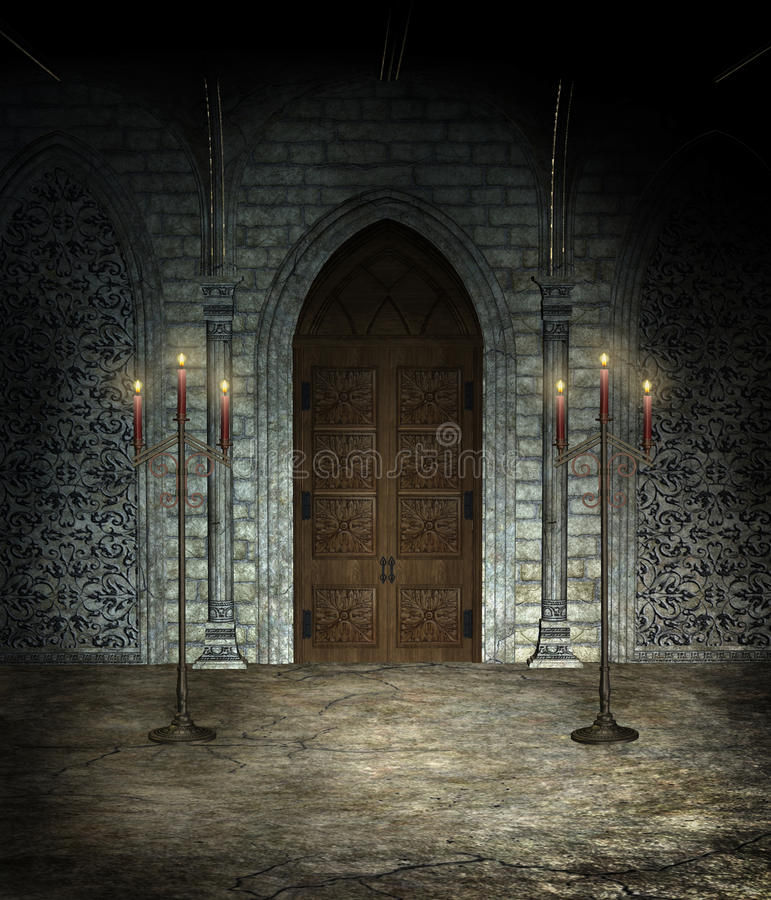 Free Gothic Cathedral Royalty Free Stock Photos - 14131308
