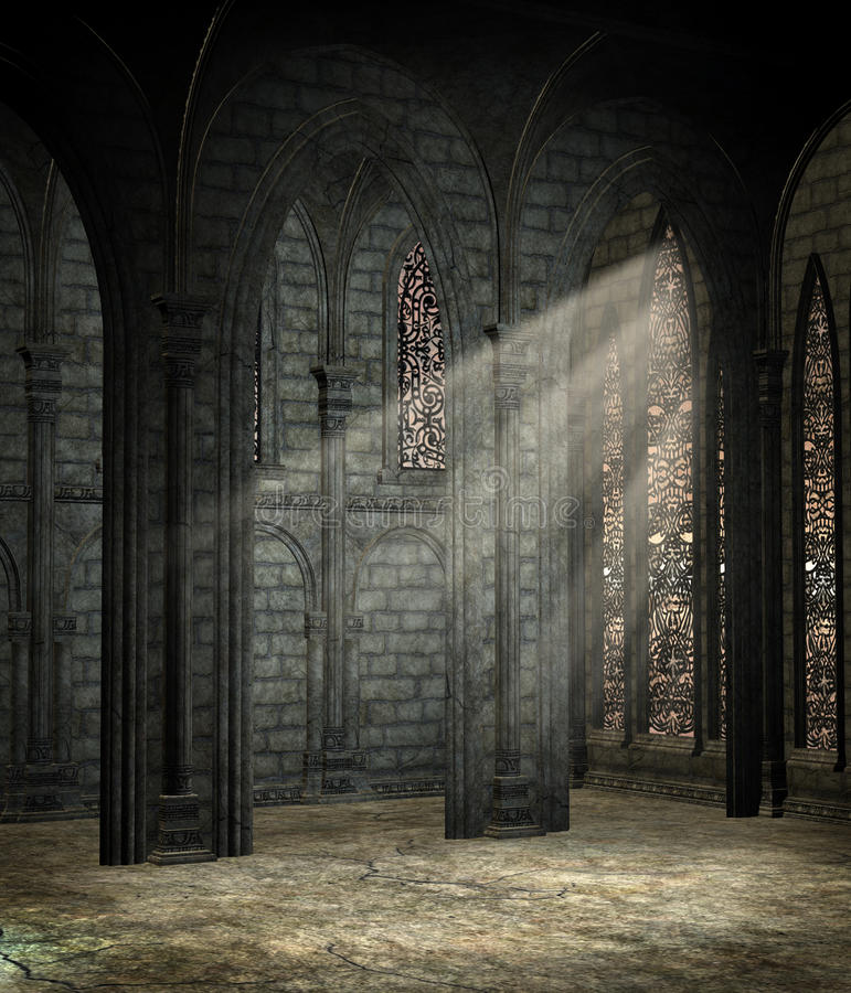 Free Gothic Cathedral 2 Stock Images - 14131324