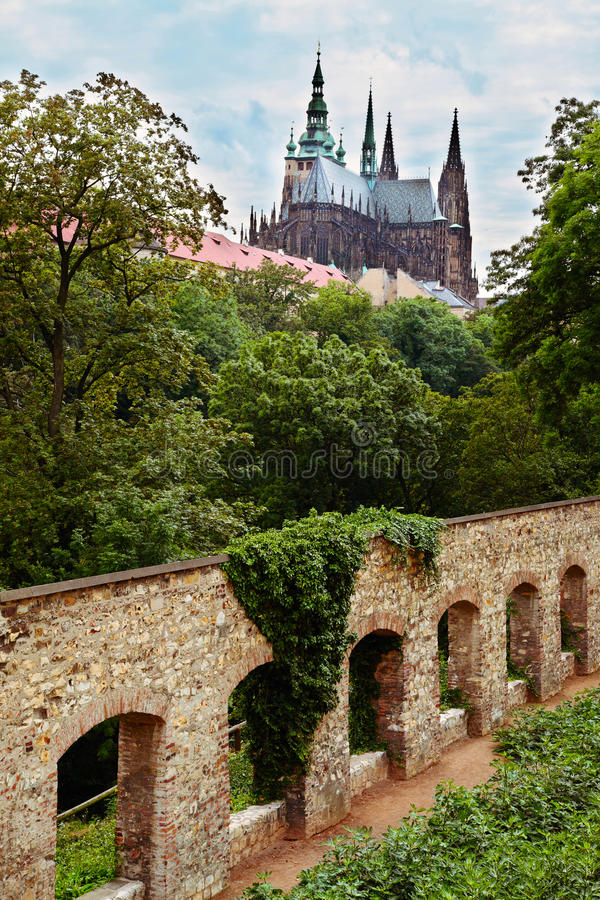 Download The gothic cathedral stock image. Image of castle, perspective - 23188375