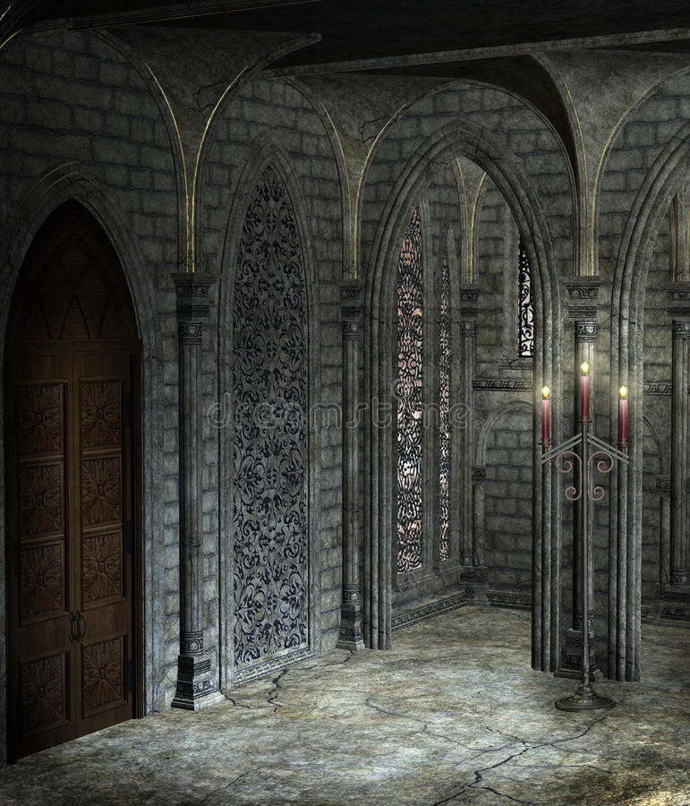Free Gothic Cathedral 3 Royalty Free Stock Photography - 14131377