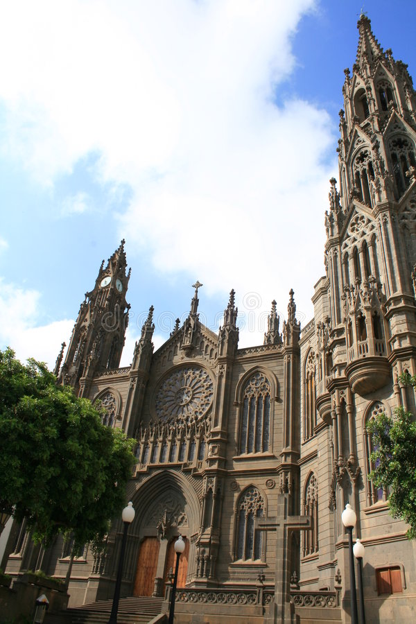 Free Gothic Cathedral In Tropics Stock Photos - 3132043