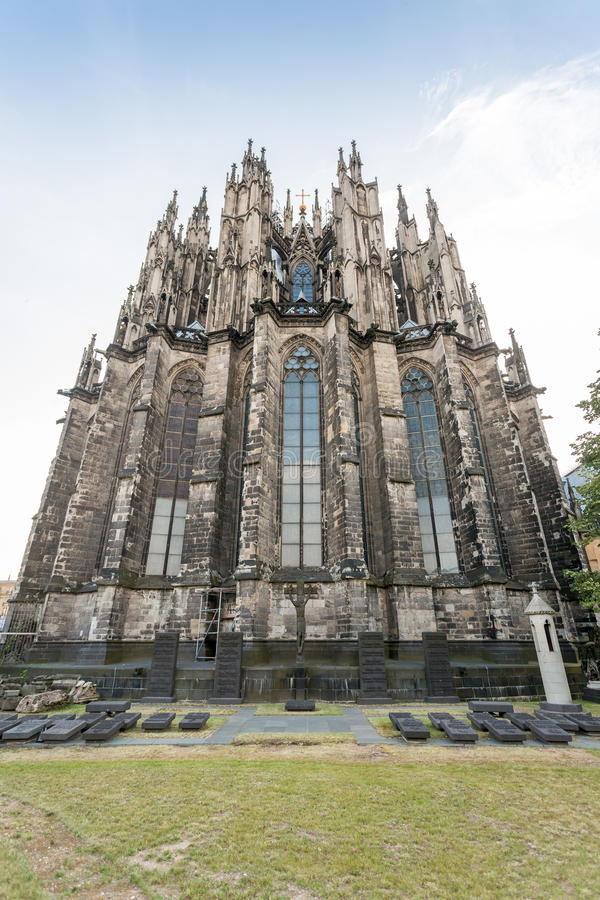 Gothic cathedral in Koln, Germany stock image