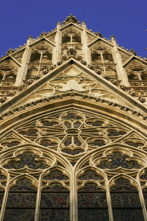 Gothic Cathedral - Votivkirche Royalty Free Stock Photo