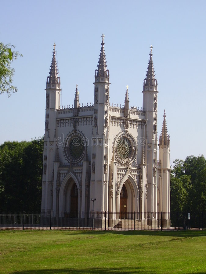 Gothic chapel royalty free stock images