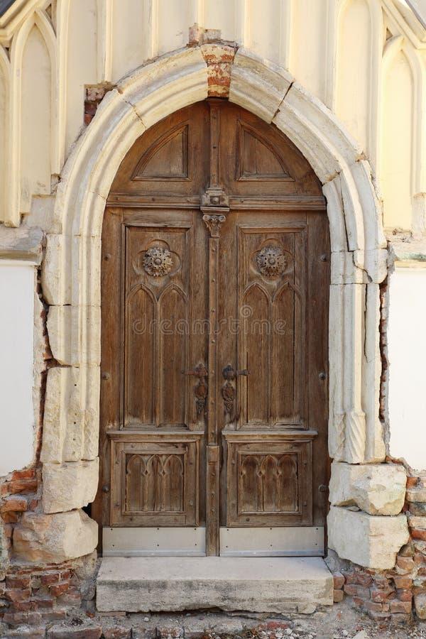 Gothic Church Doorway Royalty Free Stock Image