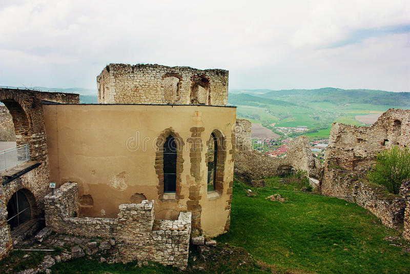 Gothic Church at Spiss Castle, Slovakia