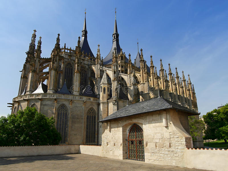 Download Gothic church towers stock photo. Image of unesco, historical - 65157646