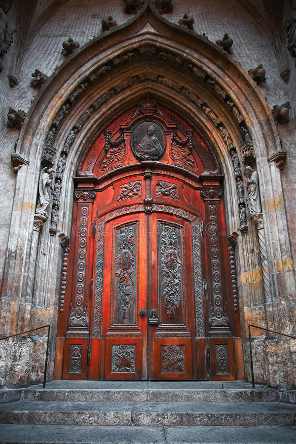 Gothic Door & Gothic Door stock photo. Image of europe blue religion - 44200164