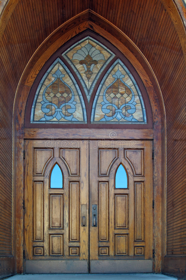Download Gothic Doors stock photo. Image of gothic doorstep building - 8689082 & Gothic Doors stock photo. Image of gothic doorstep building ... Pezcame.Com