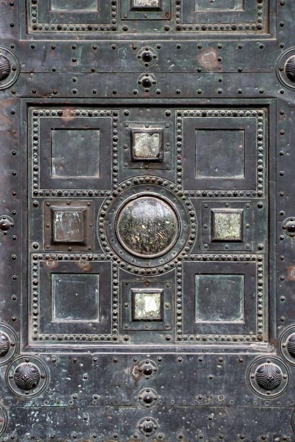 Gothic entrance stock photos