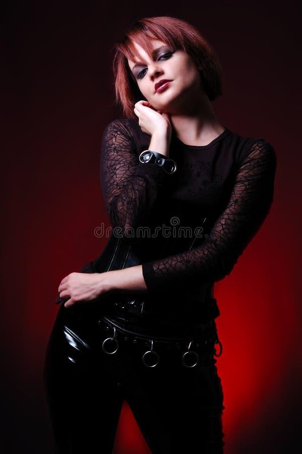 Gothic Fashion royalty free stock photography