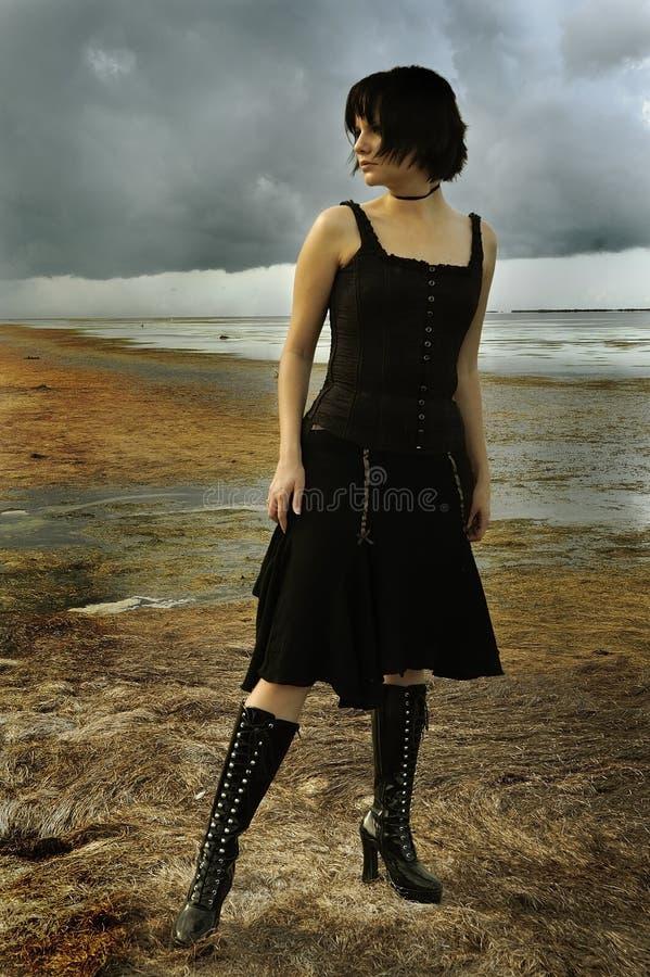 Gothic Fashion stock images