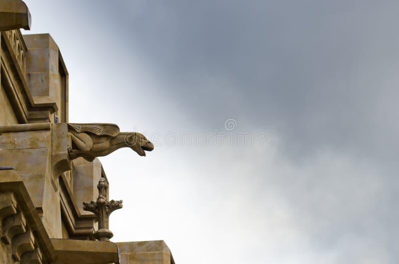 Gothic gargoyle royalty free stock photo