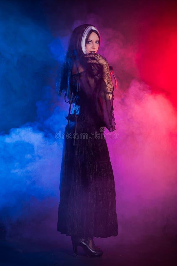 Free Gothic Girl On Smoke Background Royalty Free Stock Photography - 16589807