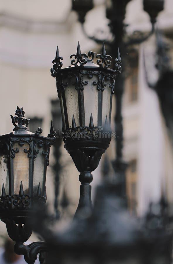 Gothic Lanterns stock photos