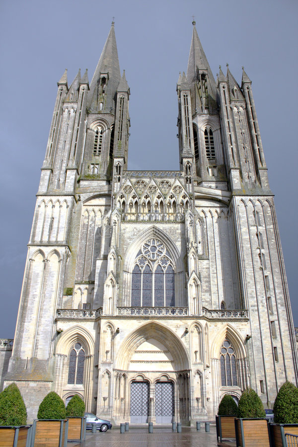 Free Gothic Medieval Cathedral (normandy, France) Royalty Free Stock Photo - 6925775