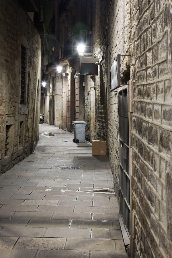 Download Gothic Quarter stock photo. Image of lighting, lane, gothic - 10413434