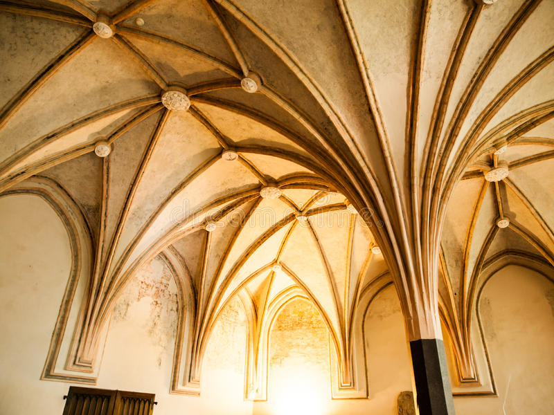 Download Gothic Rib Vault Ceiling Stock Photo Image Of Cross