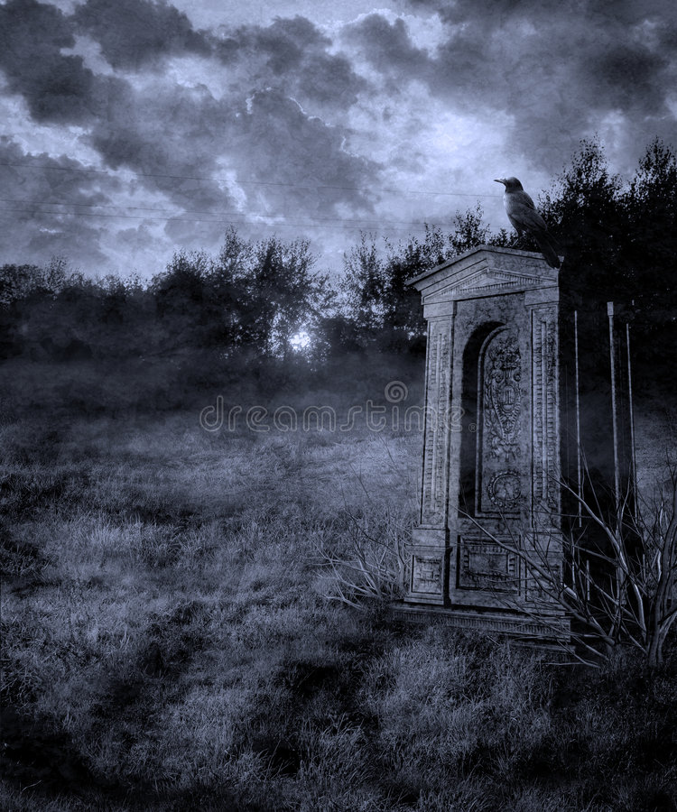 Download Gothic scenery 29 stock illustration. Image of mystical - 7871999