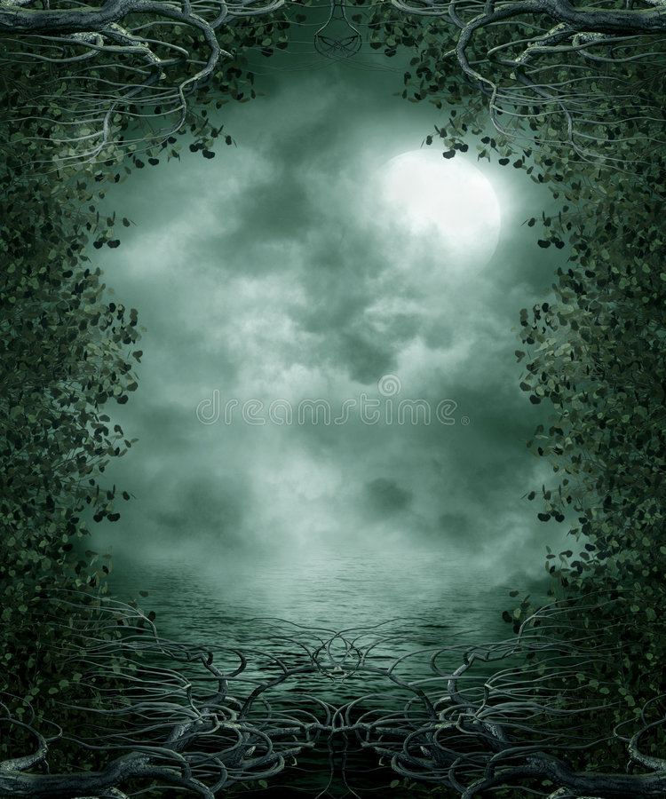 Gothic scenery 30 royalty free illustration