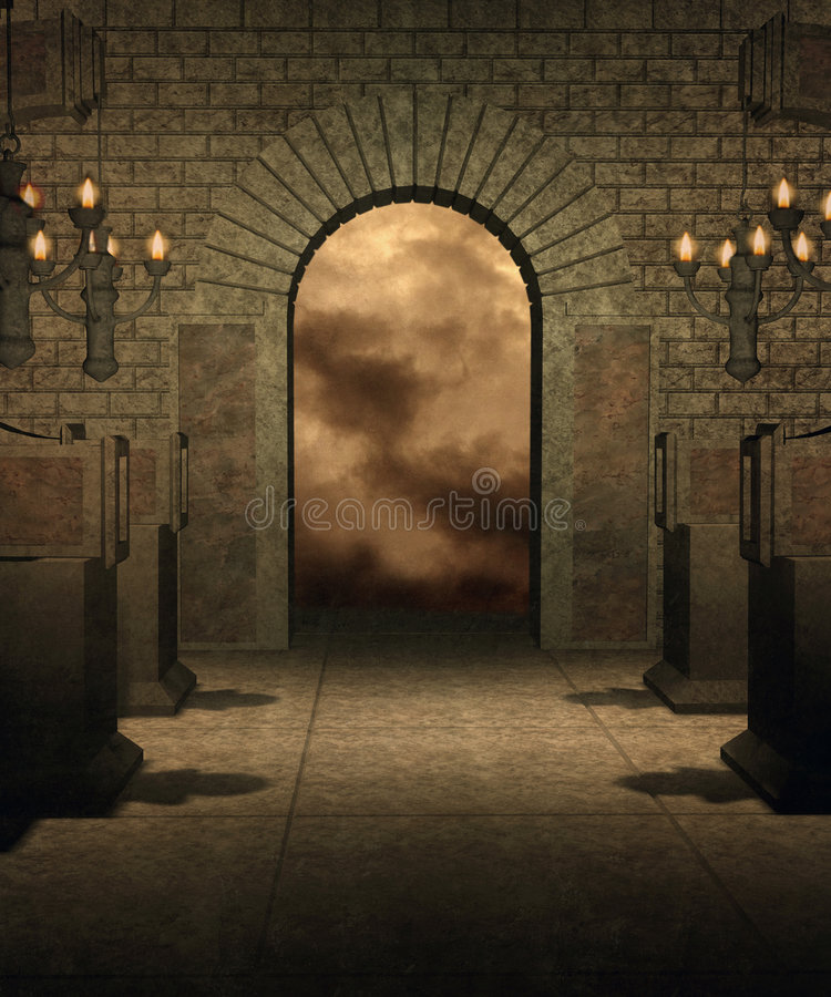 Gothic Scenery 35 Stock Images