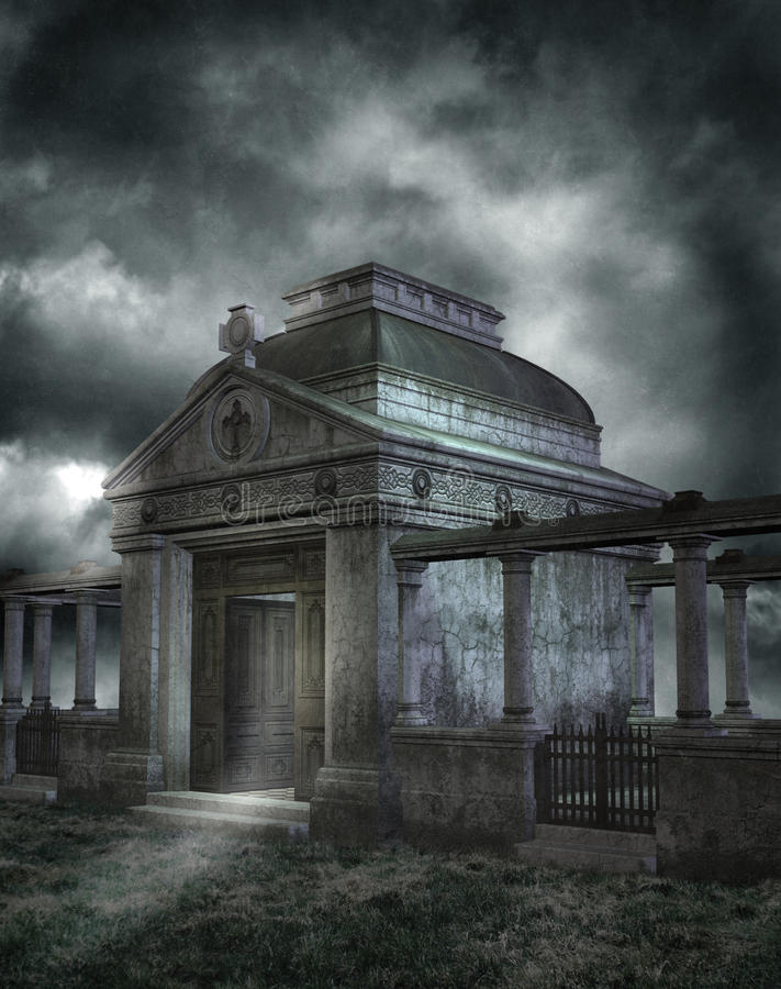 Download Gothic scenery 73 stock illustration. Image of gothic - 9372051
