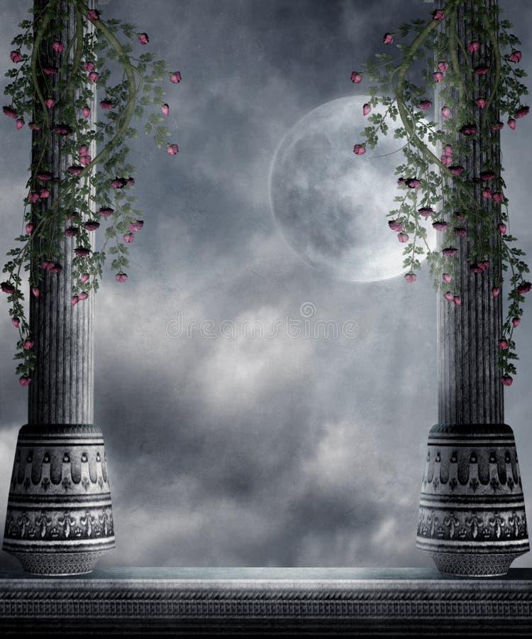 Gothic scenery 77 vector illustration