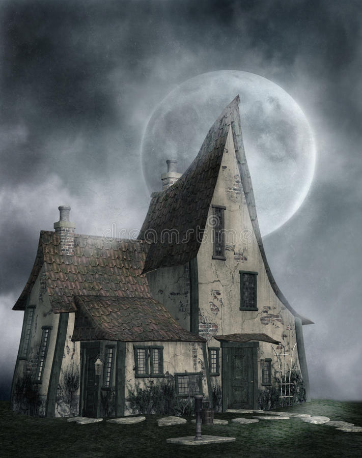 Download Gothic scenery 83 stock illustration. Image of abstract - 9481062