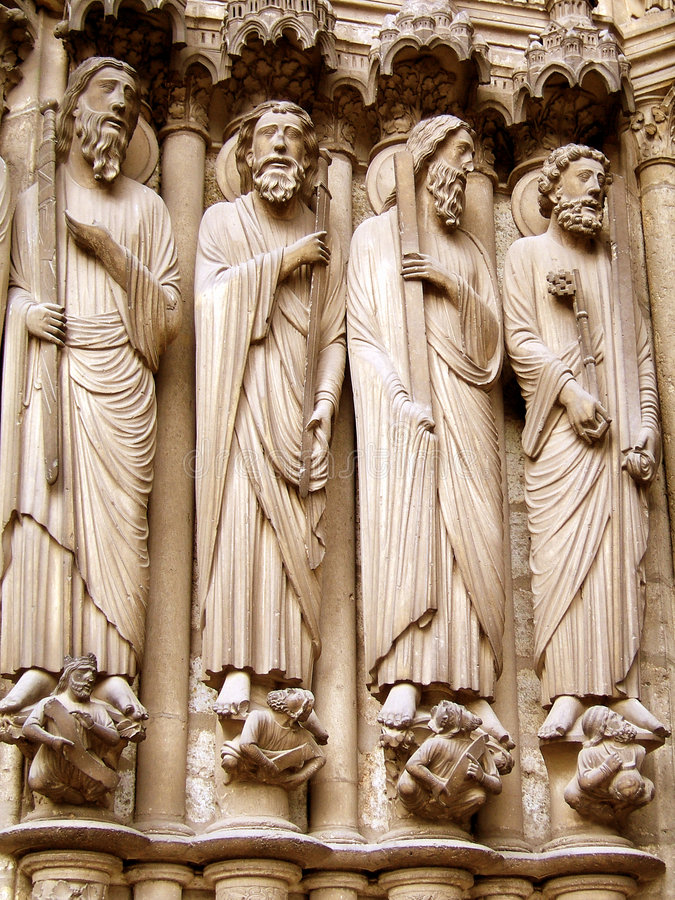 Gothic sculpture stock photography