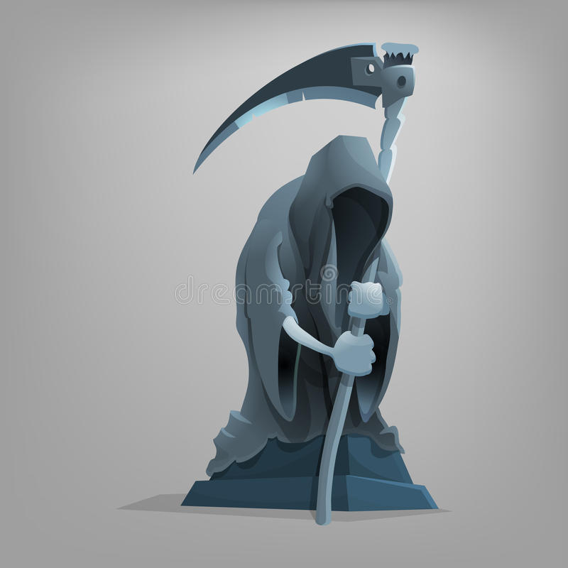 Free Gothic Sculpture Death. Royalty Free Stock Photos - 70545558