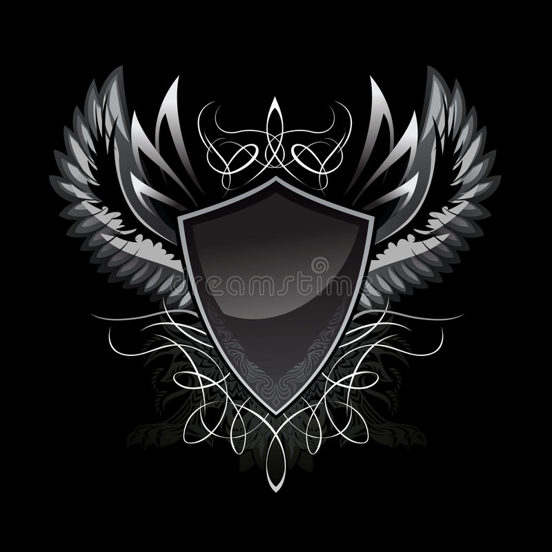 Free Gothic Shield Insignia Royalty Free Stock Images - 7495629