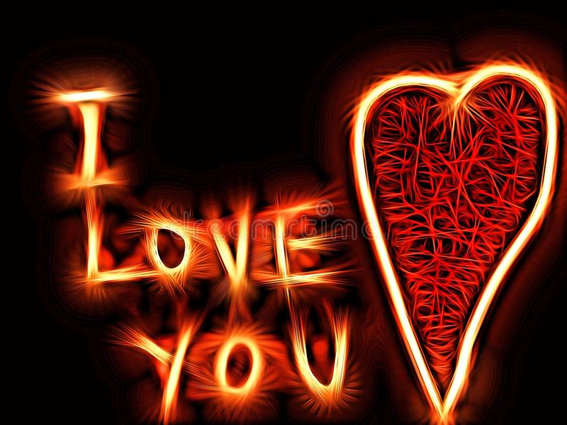 Download I Love You Background Stock Illustration Of Concept