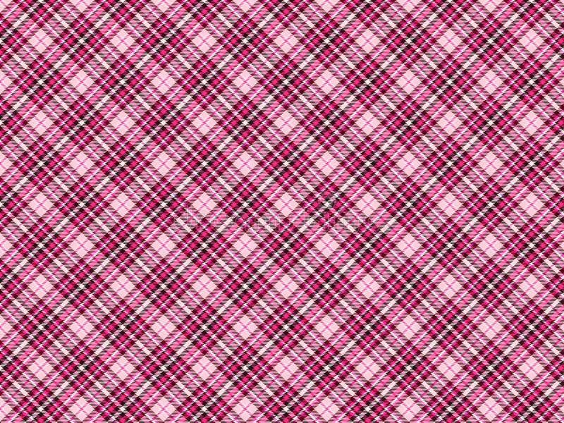 Gothic Tartan. A Gothic inspired tartan pattern design, mostly used by gothic school girls fashion royalty free stock photo